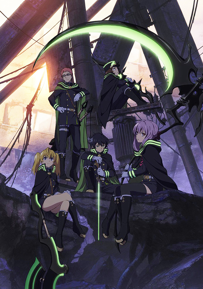 Serph of the end anime visual 2