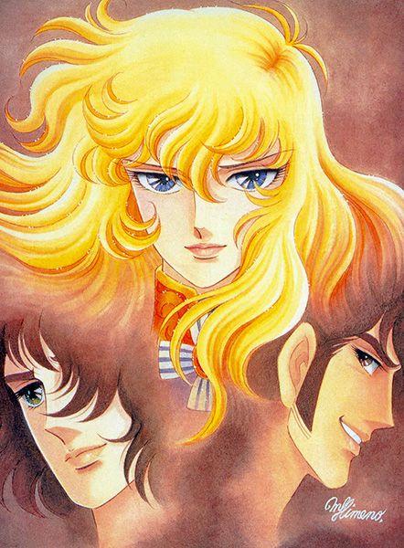 Lady oscar anime visual 8
