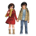 Erased anime visuel 3