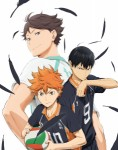 Haikyu saison 2 anime visual 1