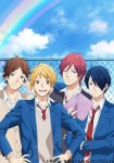 Rainbow days anime visual 1