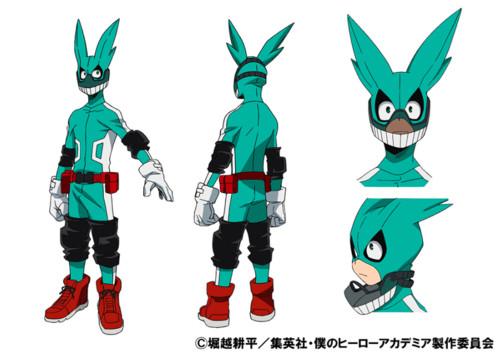 My hero academia anime izuku hero
