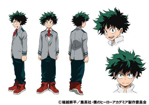 My hero academia anime izuku standard