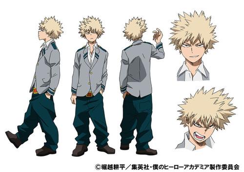 My hero academia anime katsuki standard