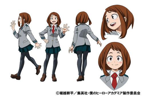 My hero academia anime ochako standard