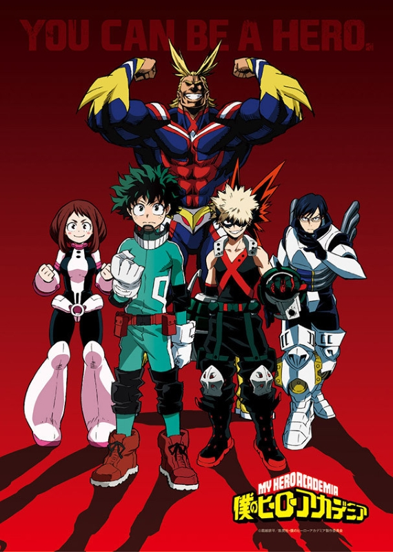 My hero academia anime visuel 2
