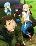 Gate saison 2 anime visual 2