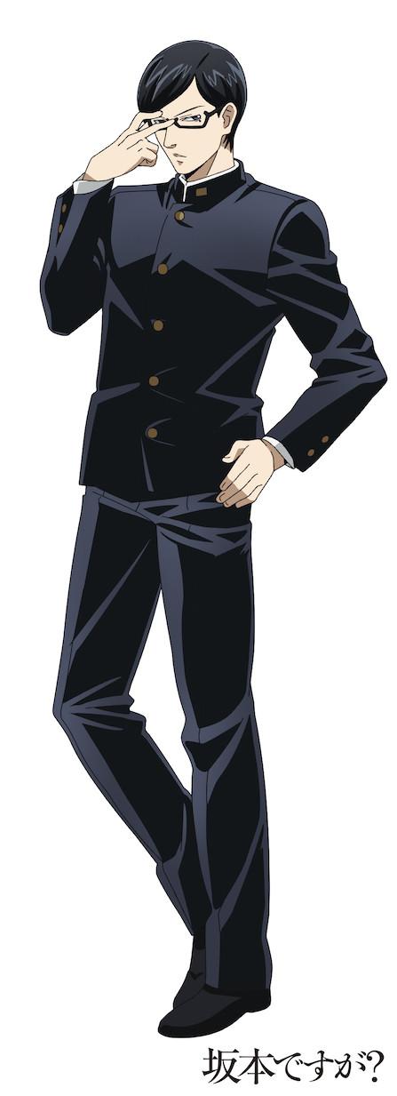 Sakamoto anime visuel 2