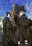 Black butler book atlantic illust 1