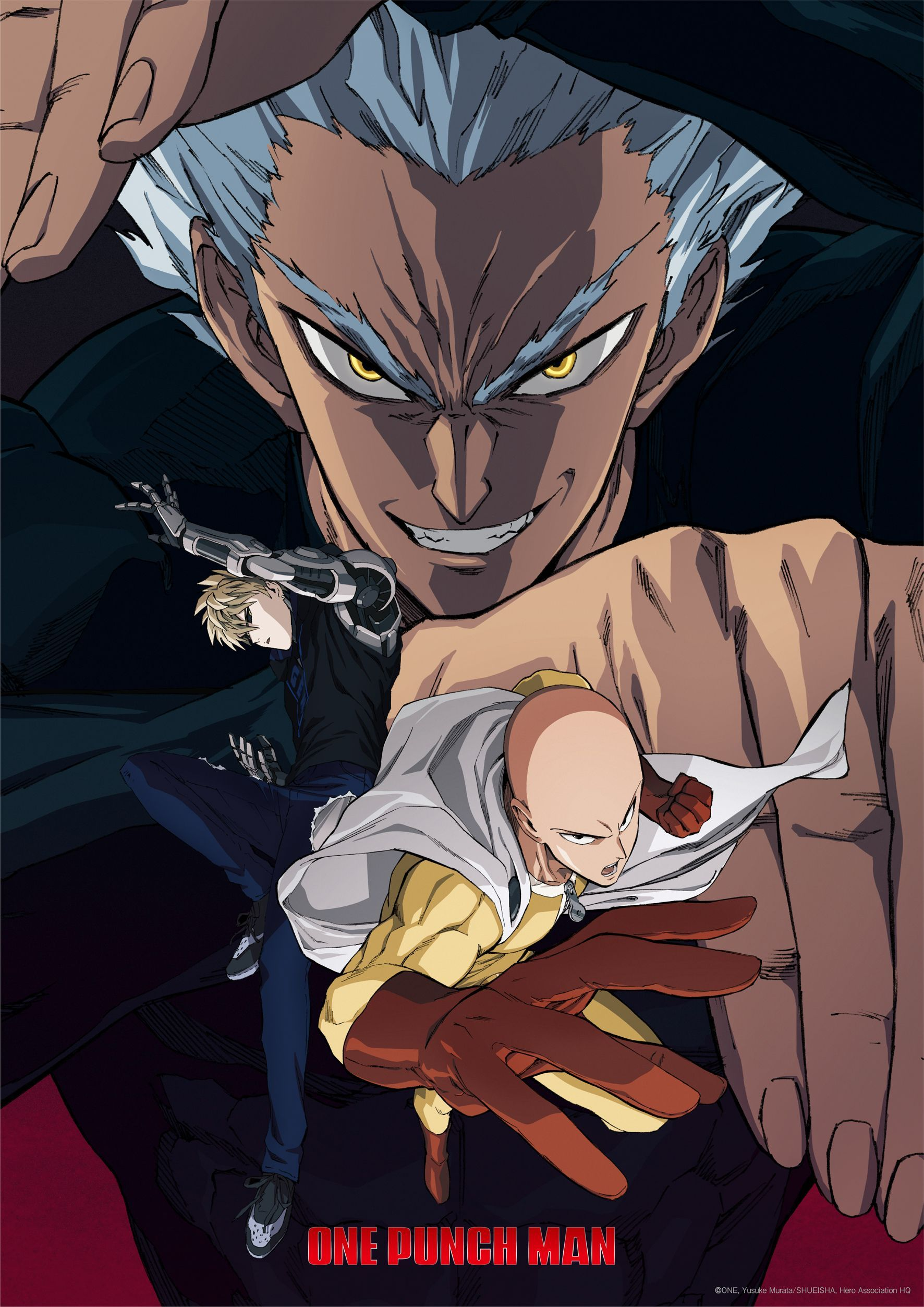 One punch man S2 anime