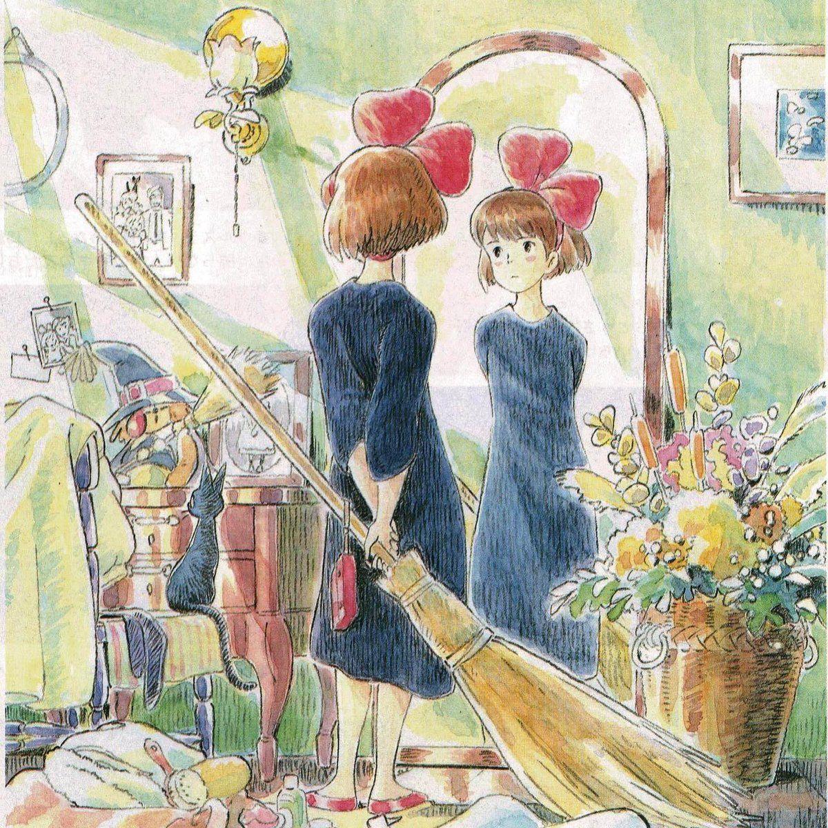 Kiki petite sorciere artwork 1