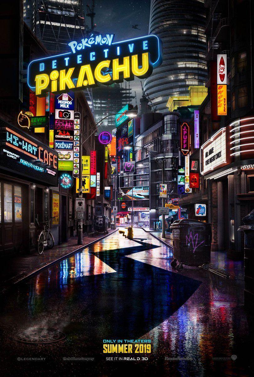 Detective pikachu  affiche