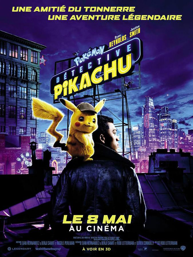 Detective pikachu affiche vf