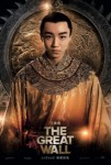 The great wall affiche chine2