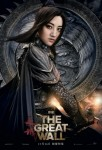 The great wall affiche chine