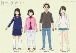 Tsuki ga kirei anime character 2