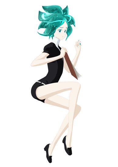 Ere des cristaux anime character 1