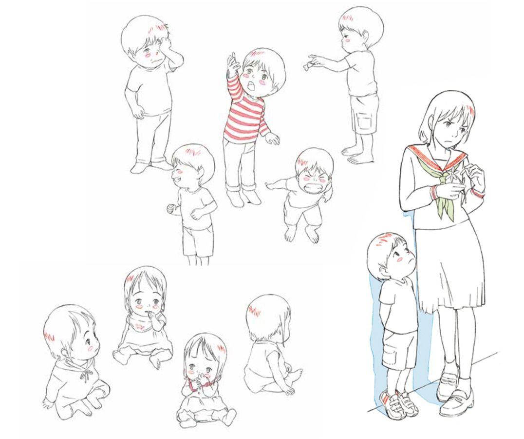 Mirai ma petite soeur sketch 1
