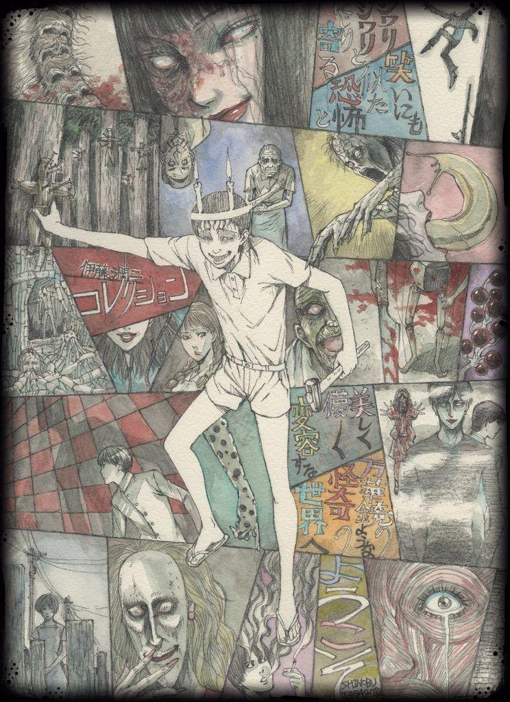 Junji ito masterpiece collection anime