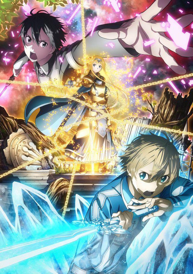 Sword art online alicization visual 02