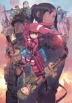 Sword art online alternative gun gale online anime visual