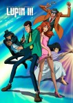 Lupin the 3rd anime visual 2