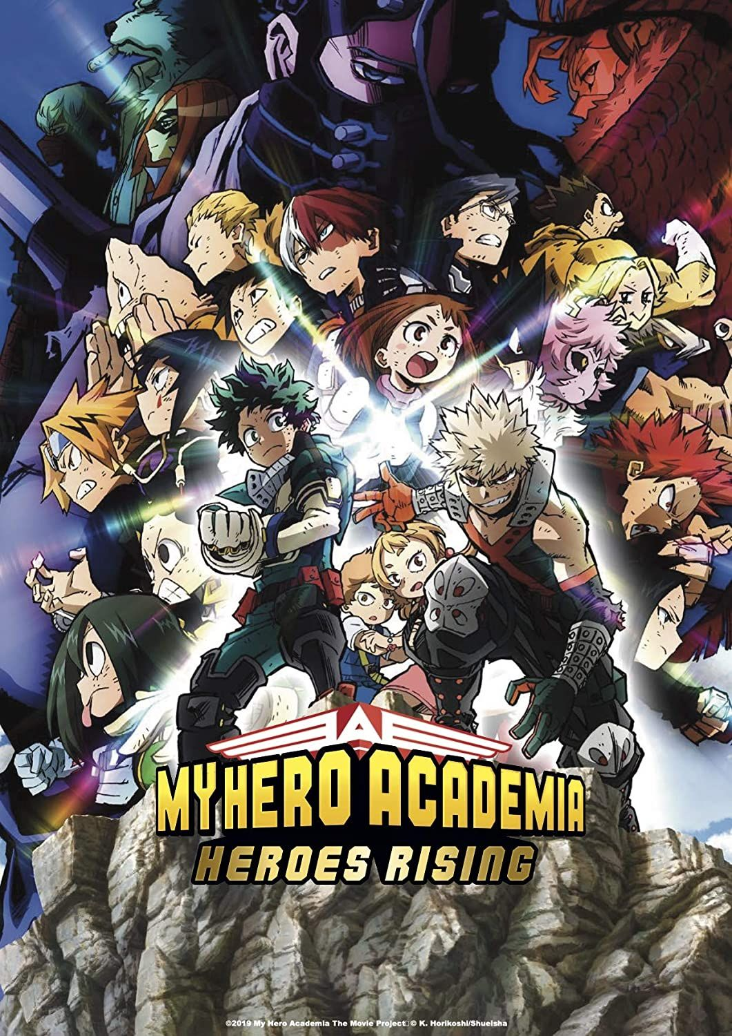 My hero adacemia heroes rising affiche 2