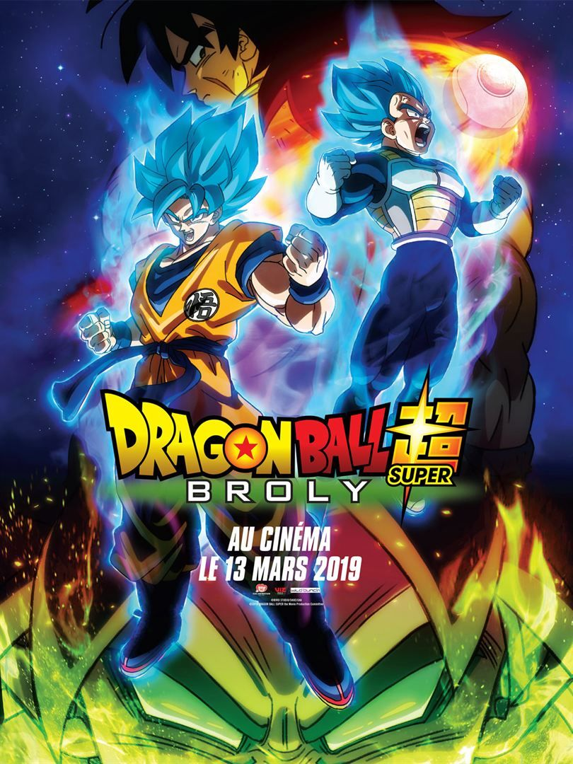 Dragon ball super broly affiche fr 01