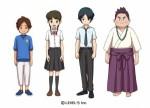 Yokai watch shadowside character designs