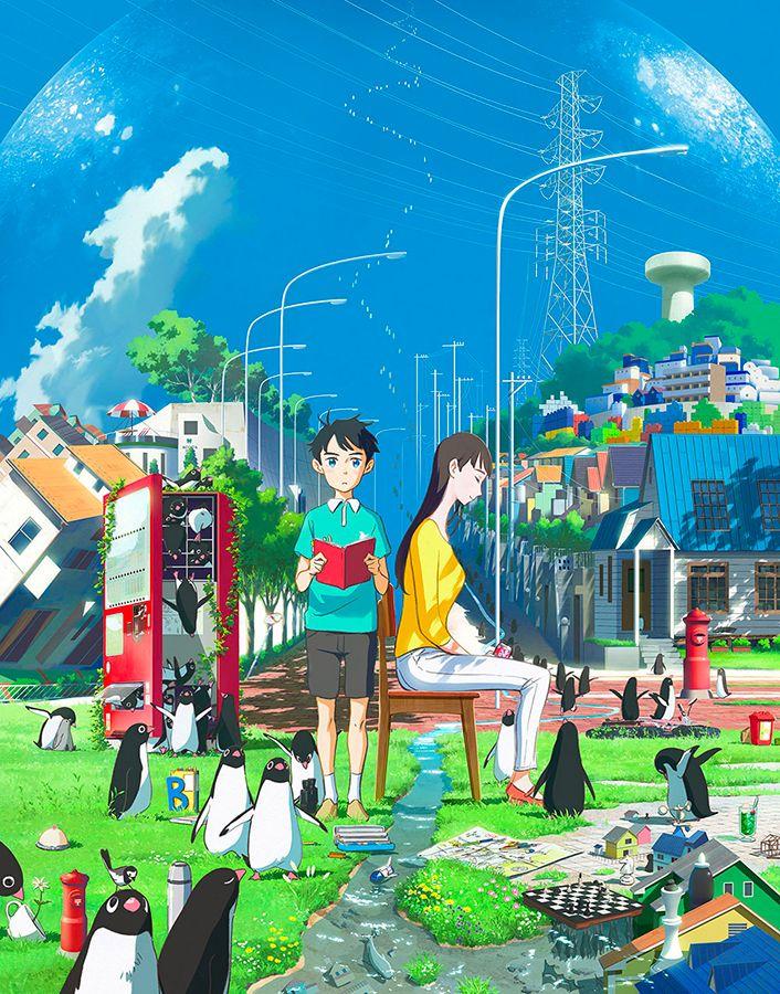 Penguin highway anime visual 2