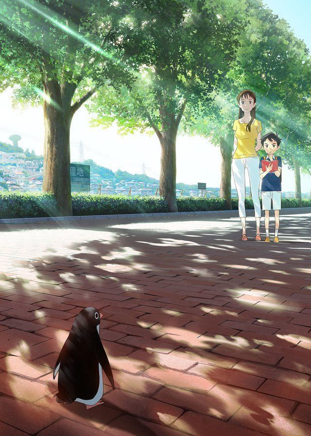 Penguin highway anime visual
