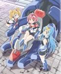 Robot girls neo anime visual