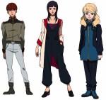 Gundam nt characters
