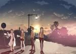 Ao buta anime visual