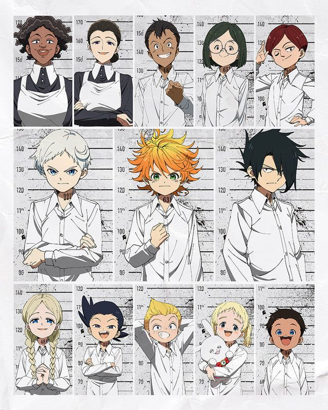 the-promised-neverland-characters-anime.