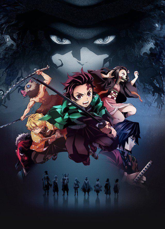 Demon slayers anime visual 2