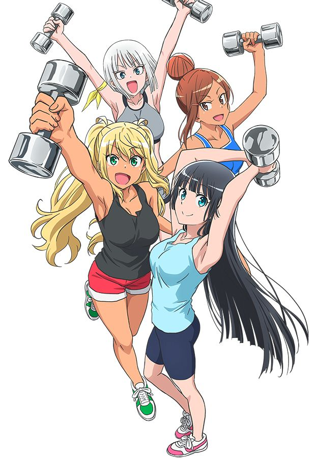 Dumbbell_na kilo moteru anime visual 2