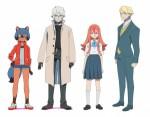 Brand new animal anime characters