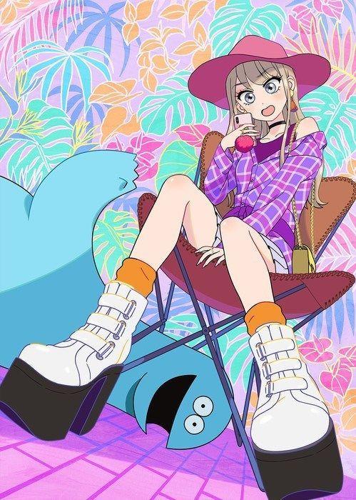 Gyaru_and_Dinosaur_anime_Visual_1