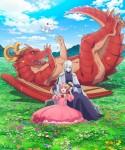 Dragon Ie wo Kau anime visual 2