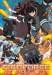 Fire Force saison 2 anime visual 3