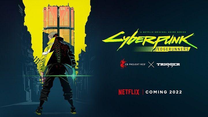 Cyberpunk Edgerunners anime promo visual.