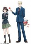 Koi to Yobu ni wa Kimochi Warui anime visual 1