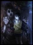 Mieruko chan anime visual 1
