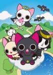 Nyampire cat vampire anime visual 1