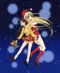 My santa anime illust 1