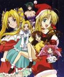 My santa anime illust 2