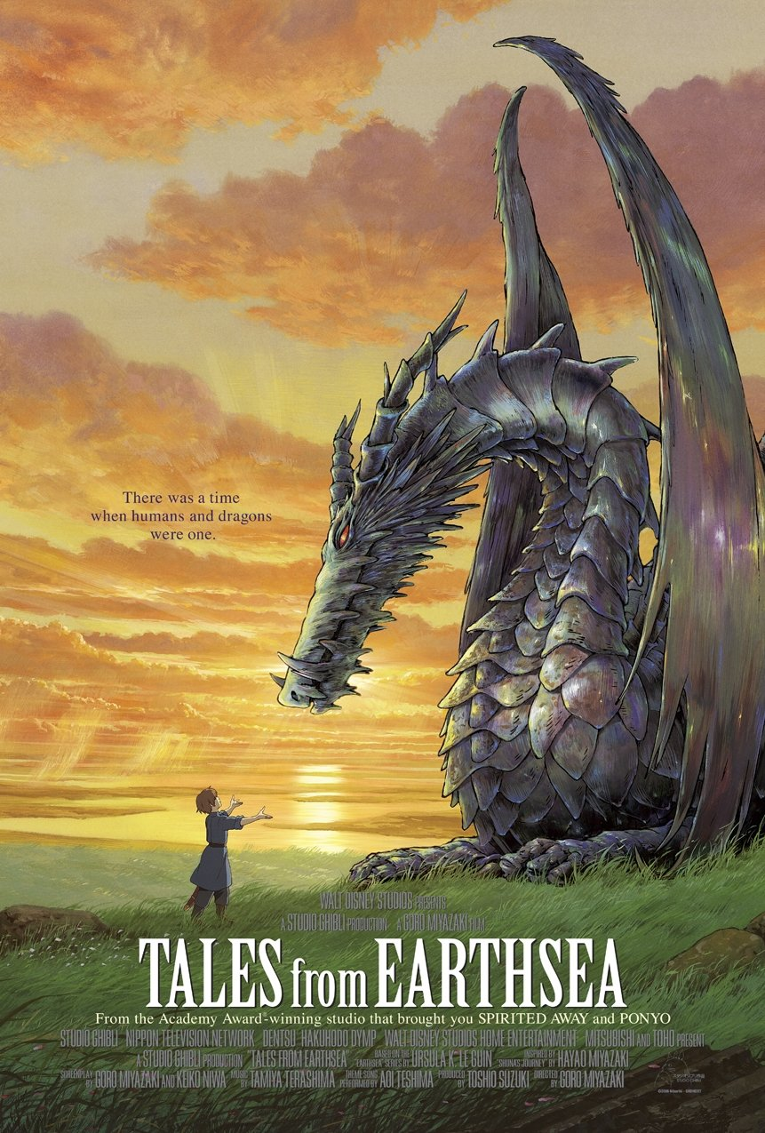 Tales from earthsea affiche us