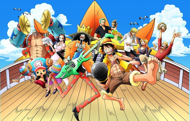 One piece anime viusal 1