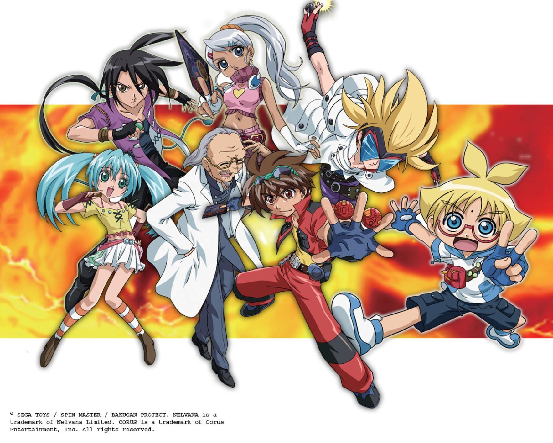 Bakugan anime visual 1